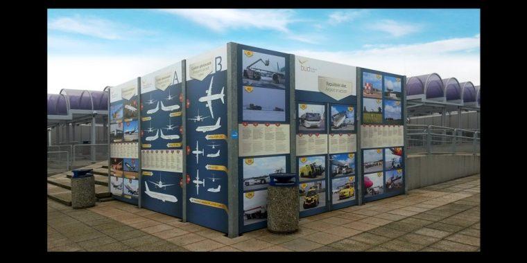 Liszt Ferenc Airport – Info Panel